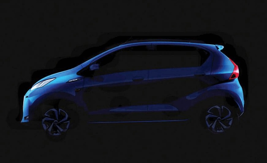 Datsun Redi Go facelift by Opsule