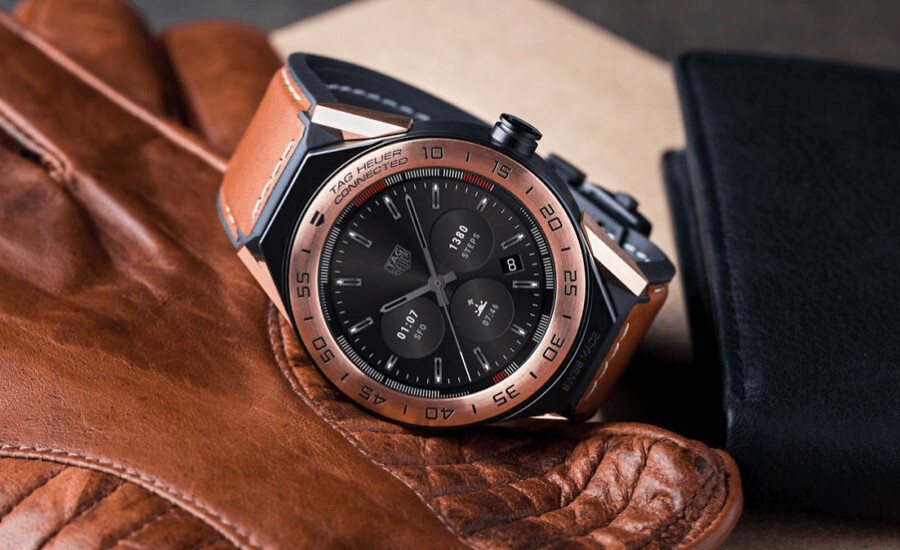 best smartwatch TAG HEUER CONNECTED MODULAR 45 by Opsule