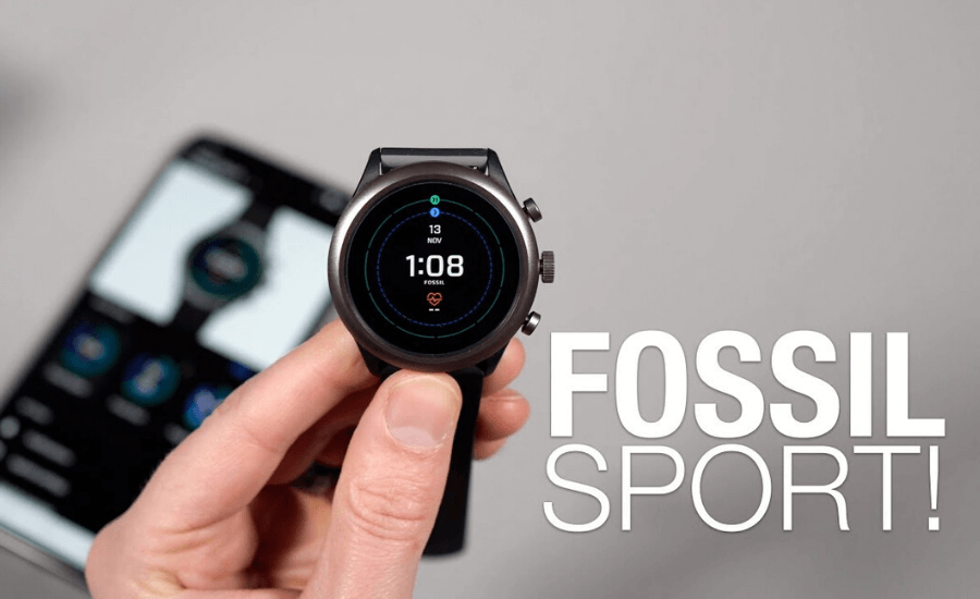 best smartwatch Fossil sport by Opsule