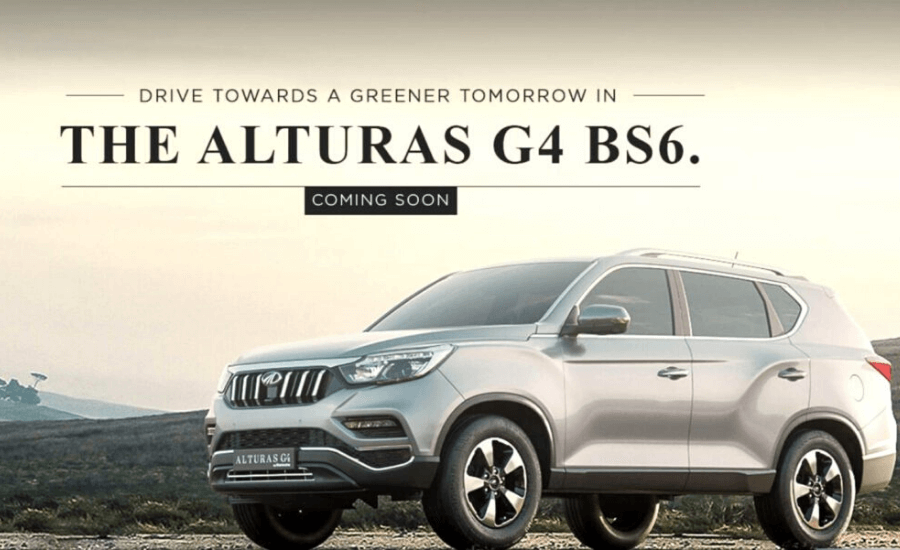 Mahindra Alturas G4 by Opsule