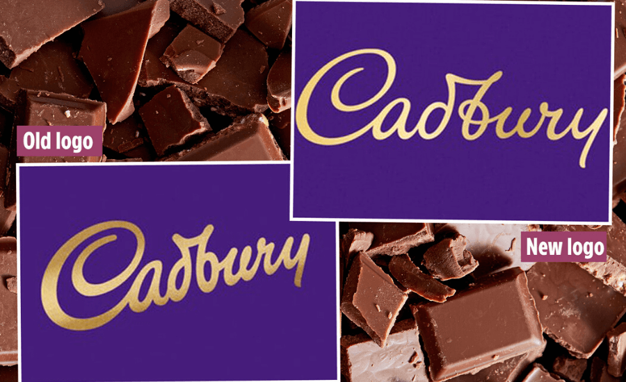 Cadbury changed its logo by Opsule blog