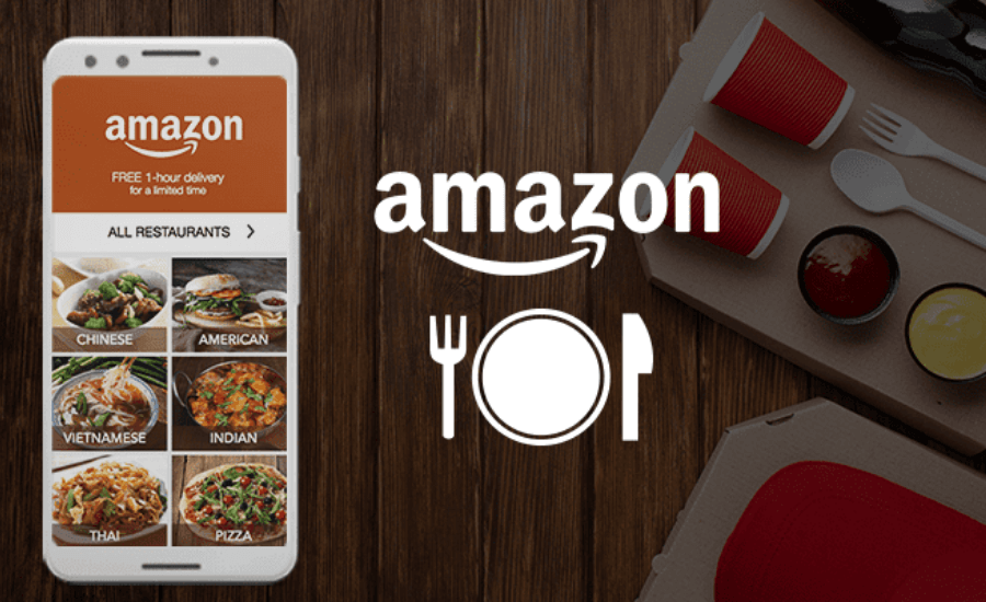 Amazon launches food delivery service in India by Opsule blog