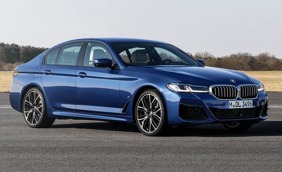2021 BMW 5 Series facelift by Opsule blog