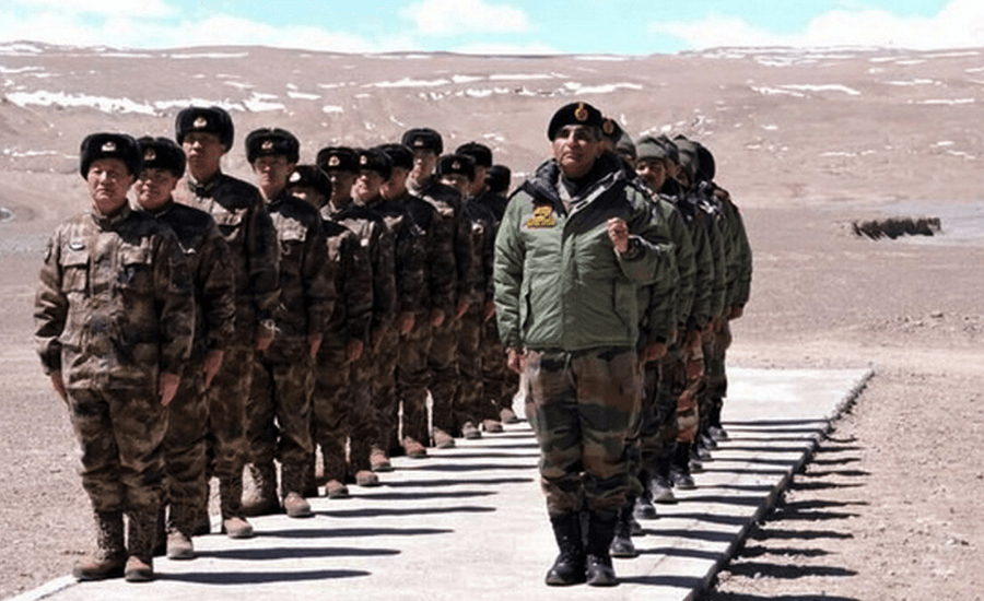 The State of Play on the India-China Border by Opsule blog