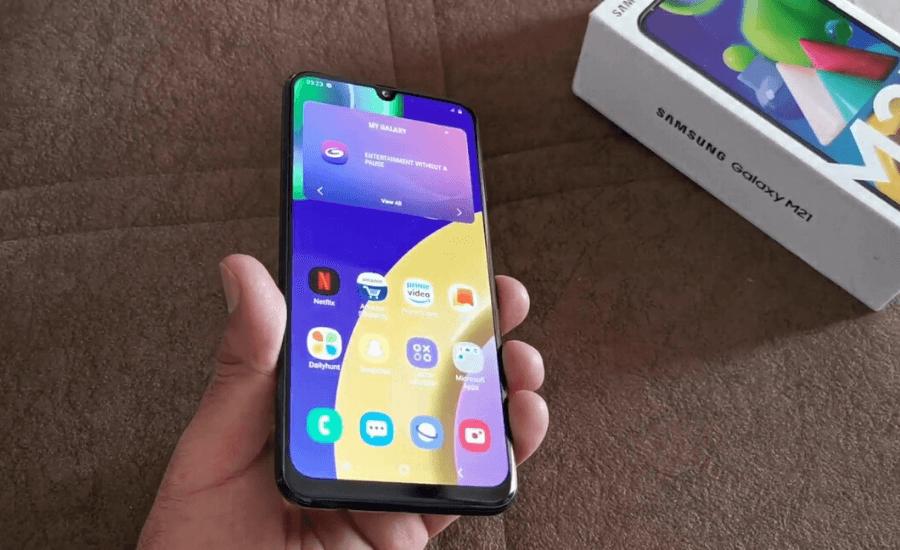 Samsung Galaxy M21 by Opsule blog
