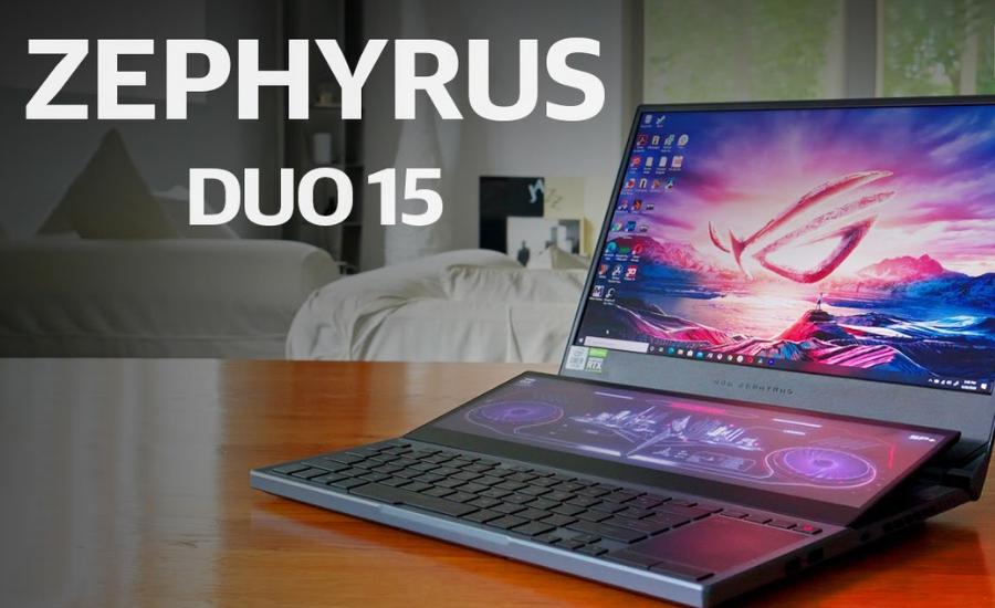 Asus Zephyrus Duo 15 GX550 review by Opsule blog
