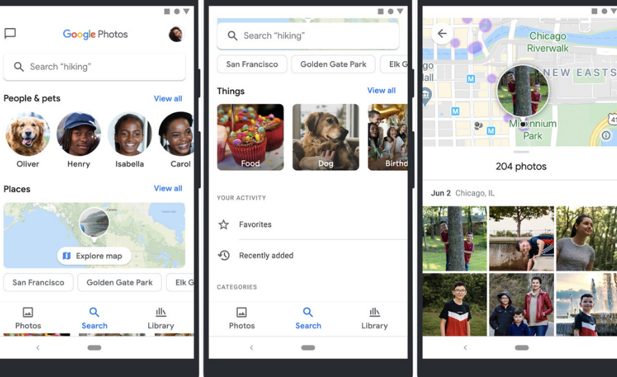 Google Photos' map view gets timeline feature as well - Opsule blog